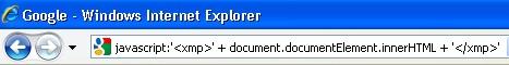 Ver código generado - IE